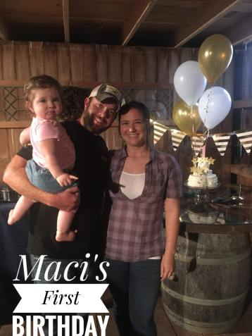 Maci's First Birthday